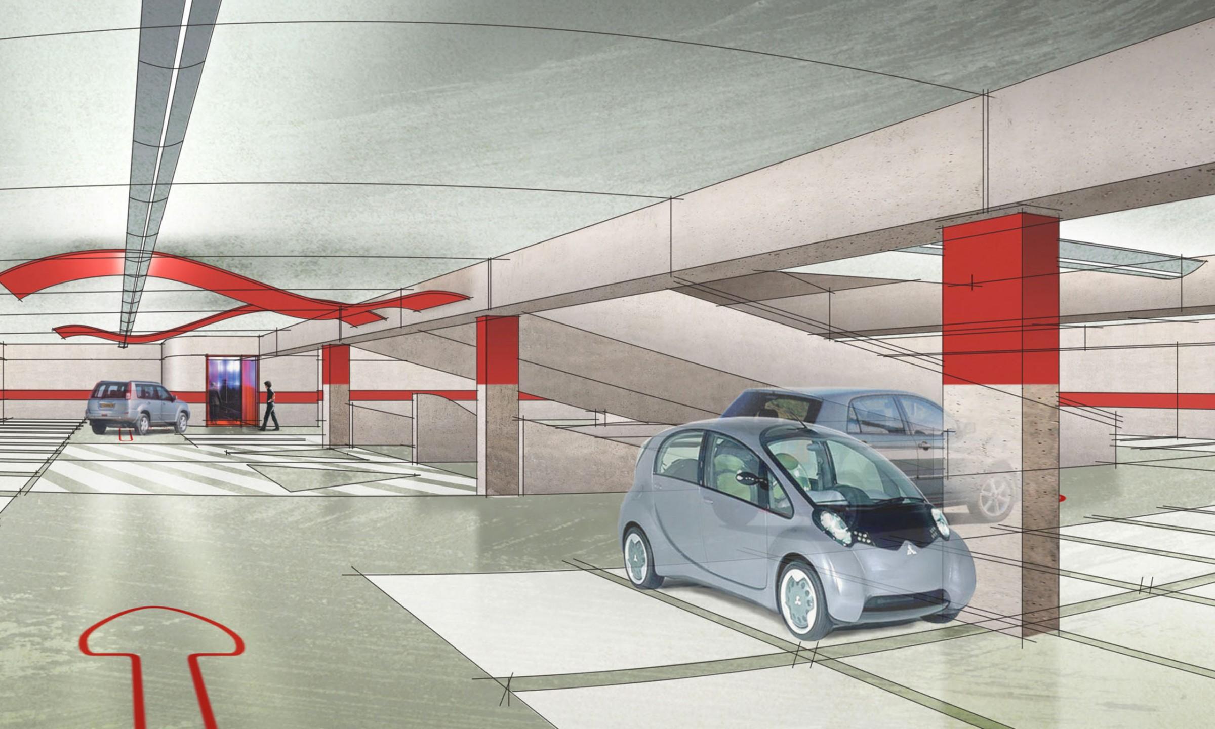 Parking Expercieux - PARC DE STATIONNEMENT 500 PLACES Marseille (13)