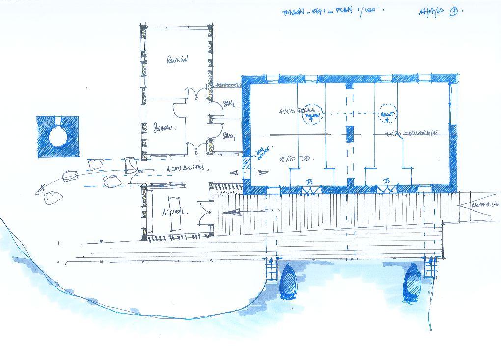 Le Tonkin - Réhabilitation de l'ancienne pompe du Tonkin La Fossette - Port autonome de Marseille [13]