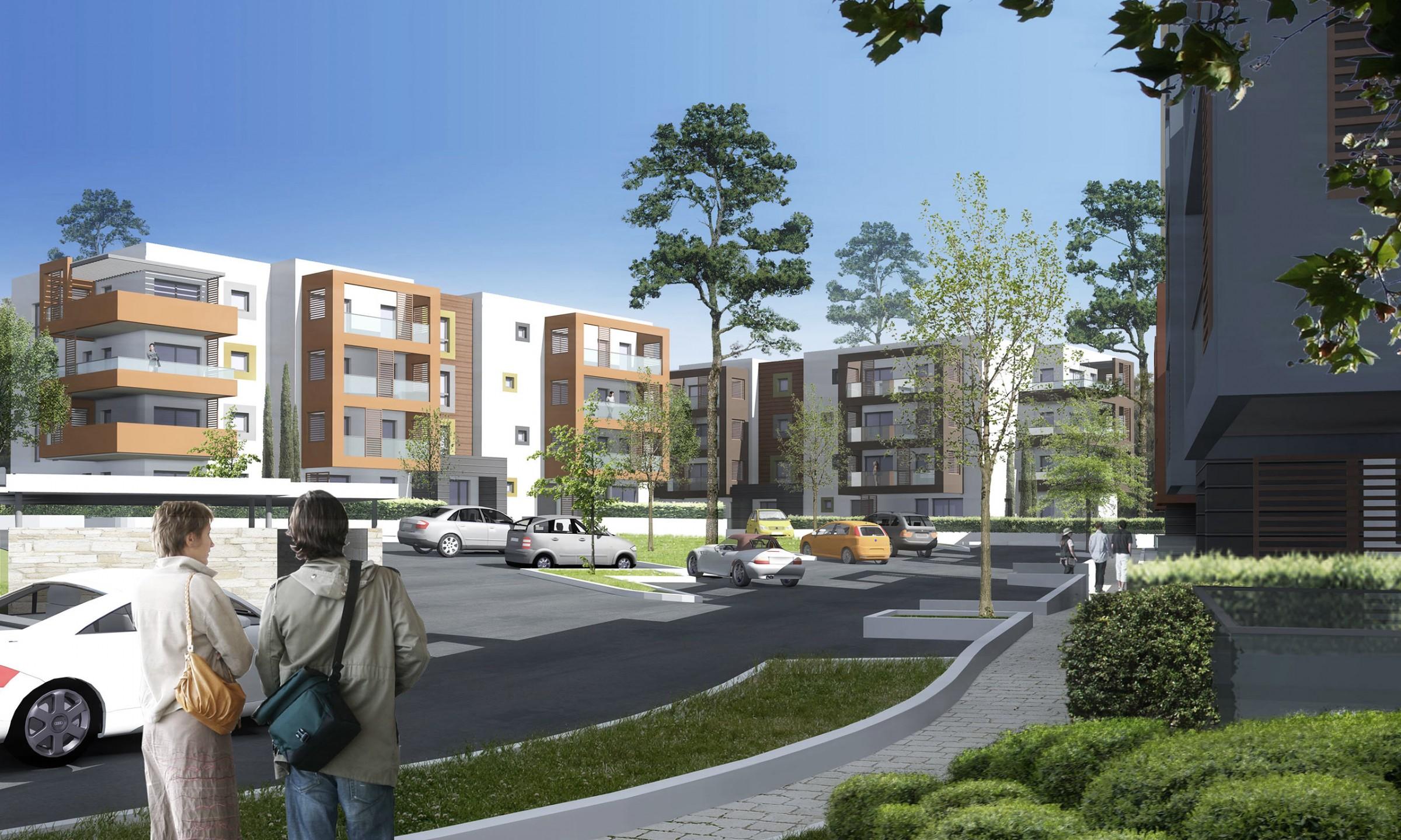 Les Parenques - 107 logements en accession collectifs / BBC - THPE